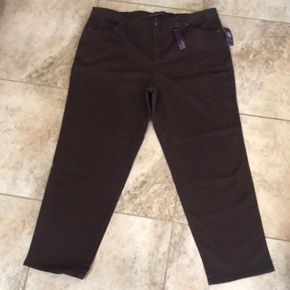 b13486b2c1175 🌷sale NWT Gloria Vanderbilt Amanda jeans 22W